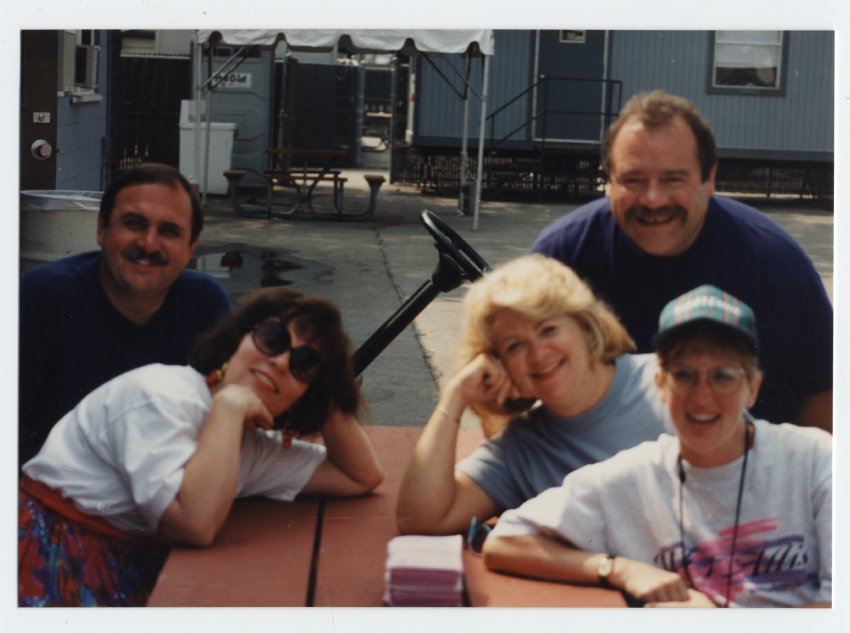 Russ and Kathy Schultz, Chuck Romanoff, Margo Kuisis and Marianne Mikush Fisher
