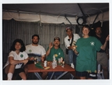 Beer Volunteers Dennis Jones, Bruce Jensen and Tanya Jones at 1995 Irish Fest