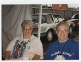 Barbara and Maureen Tyler Volunteers at 1995 Irish Fest