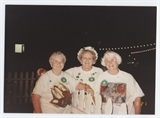 Pat Sadowski, Jane Ward and Muriel Crowley Volunteers at 1995 Irish Fest