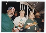 Margo Kuisis and Liz Heck Sanders Volunteers at 1995 Irish Fest
