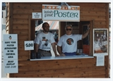 Poster Booth Volunteers at 1995 Irish Fest
