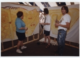 1998 Volunteers in Cultural Tent