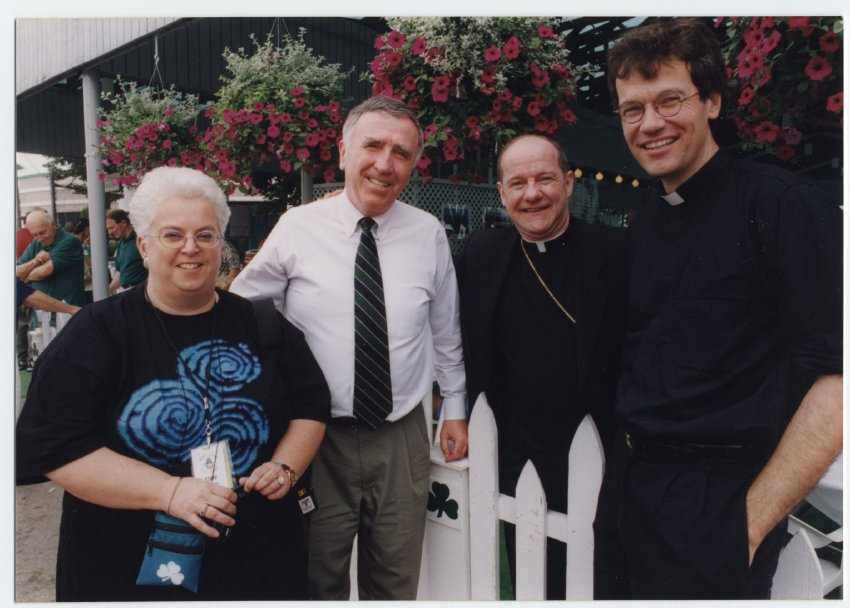 Barb Tyler, E Michael McCann, Father Mike Maher