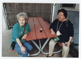 Betty Mikush and Mary Otto