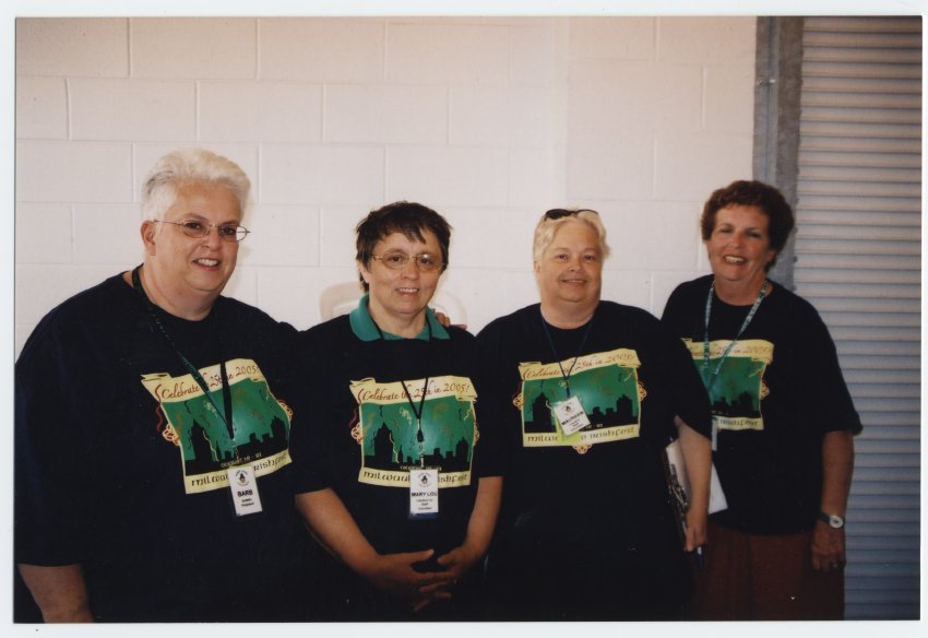 Barb Tyler, Mary Lou Heck, Maureen Tyler, Jane Anderson