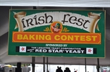 Baking Contest Sign