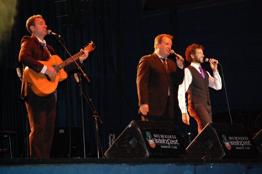 Celtic Tenors at Milwaukee Irish Fest 2015