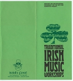 Milwaukee Irish Fest Traditional Irish Music Workshops Brochure, 1981