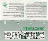 Milwaukee Irish Fest Grounds Brochure, 1985