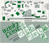 Milwaukee Irish Fest Grounds Brochure, 1987
