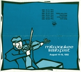Milwaukee Irish Fest Grounds Brochure, 1992