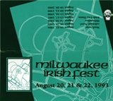 Milwaukee Irish Fest Grounds Brochure, 1993
