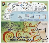 Milwaukee Irish Fest Grounds Brochure, 2001