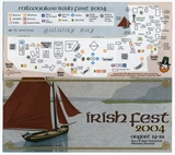Milwaukee Irish Fest Grounds Brochure, 2004