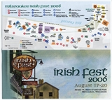 Milwaukee Irish Fest Grounds Brochure, 2006