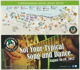 Milwaukee Irish Fest Grounds Brochure, 2012