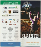 Milwaukee Irish Fest Grounds Brochure, 2015