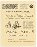 Kevin Burke and Micheal O Domhnaill Milwaukee Gig Poster