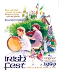 1989 Milwaukee Irish Fest Poster
