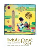 1994 Milwaukee Irish Fest Poster