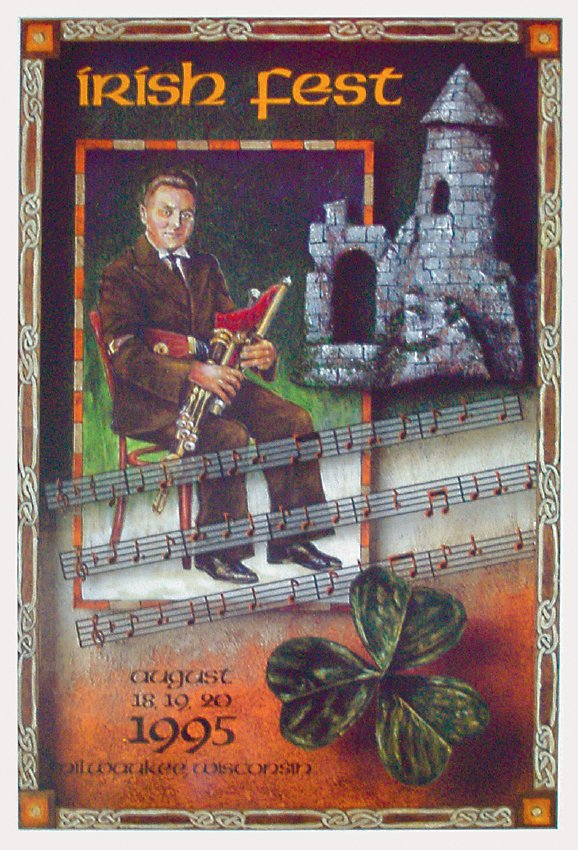 1995 Milwaukee Irish Fest Poster