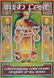 2000 Milwaukee Irish Fest Poster