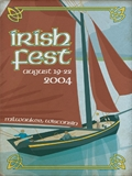 2004 Milwaukee Irish Fest Poster