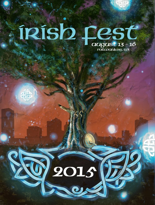 2015 Milwaukee Irish Fest Poster
