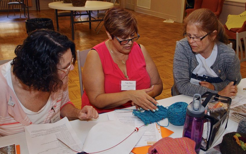 Irish Knitting and Design - 2016 Milwaukee Irish Fest Summer School