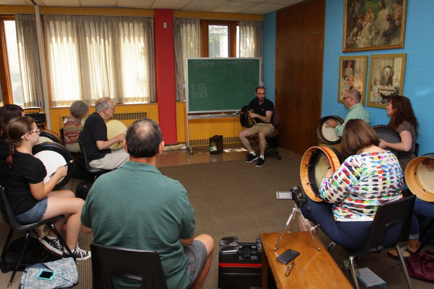 Bodhran, Intermediate - 2016 Milwaukee Irish Fest Summer School